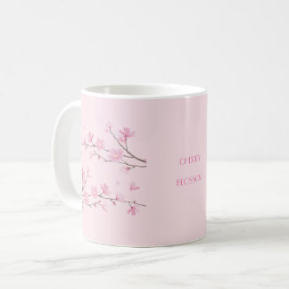 Cherry Blossom - Transparent-Background Coffee Mug