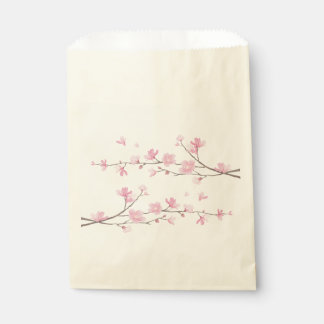 Cherry Blossom - Transparent Background Favour Bag