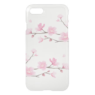 Cherry Blossom - Transparent Background iPhone 8/7 Case