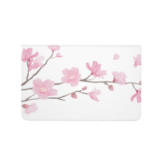 Cherry Blossom - Transparent Background Journal