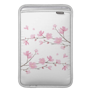 Cherry Blossom - Transparent Background MacBook Sleeve
