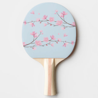 Cherry Blossom - Transparent Background Ping Pong Paddle