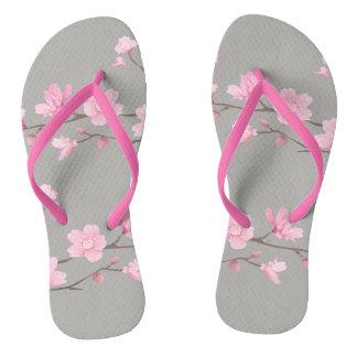 Cherry Blossom - Transparent Background Thongs
