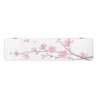 Cherry Blossom - Transparent Beer Pong Table