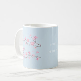 Cherry Blossom - Transparent-HAPPY BIRTHDAY Coffee Mug