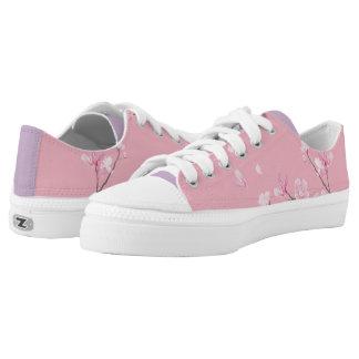 Cherry Blossom - Transparent Printed Shoes