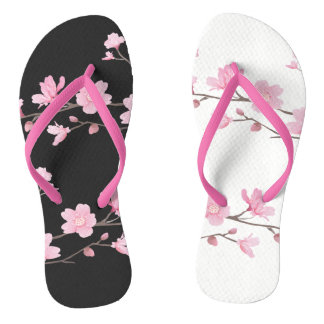 Cherry Blossom - Transparent - Special Thongs