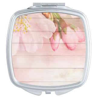 Cherry Blossom Travel Mirror