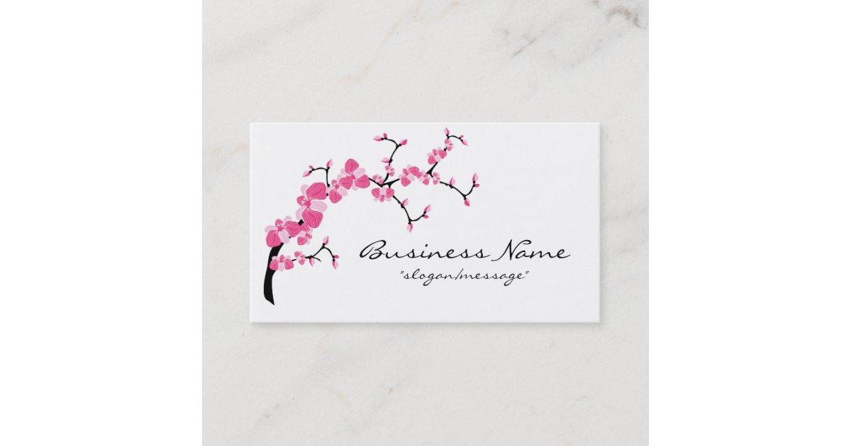 Cherry Blossom Tree Branch Business Card | Zazzle.com.au
