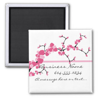 Cherry Blossom Tree Branch Customizable Magnet