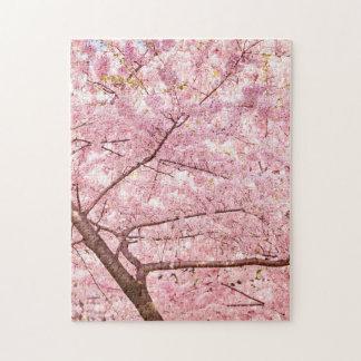 Cherry Blossom Trees Jigsaw Puzzle