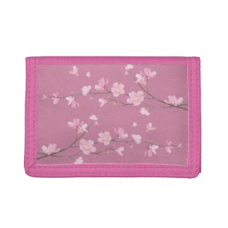 Cherry Blossom Trifold Wallet