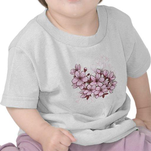 Cherry blossom tee shirt