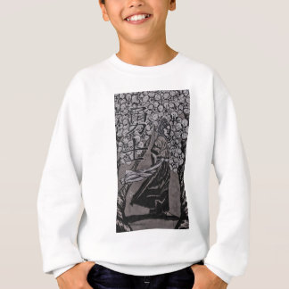 Cherry Blossom Warrior by Carter L Shepard Sweatshirt