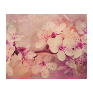 Cherry Blossom Watercolor Art
