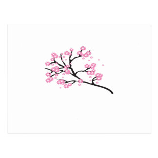 Cherry Blossom Wedding Souvenirs Gifts Giveaways Postcard