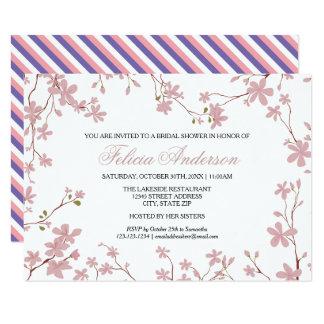 Cherry Blossoms - 3x5 Bridal Shower Invitation