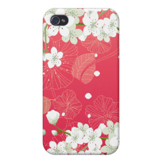 Cherry Blossoms 4 iPhone 4/4S Case