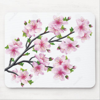 Cherry Blossoms 4 Mouse Pad