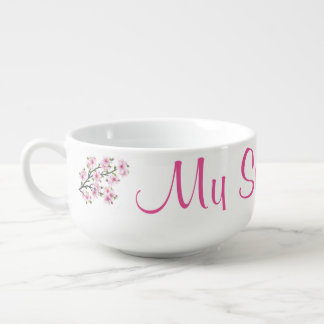 Cherry Blossoms 4 Soup Mug