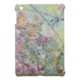 Cherry Blossoms Abstract iPad Mini Cover