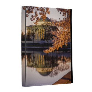 Cherry Blossoms And The Jefferson Memorial 2 iPad Folio Cases