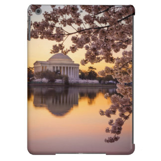 Cherry Blossoms And The Jefferson Memorial iPad Air Cases