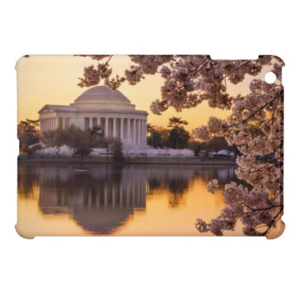 Cherry Blossoms And The Jefferson Memorial iPad Mini Covers