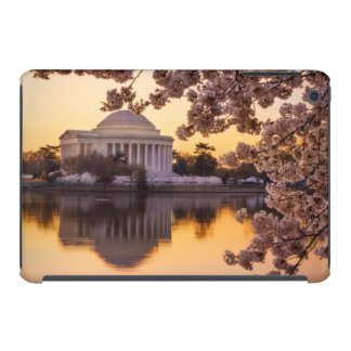 Cherry Blossoms And The Jefferson Memorial iPad Mini Retina Covers