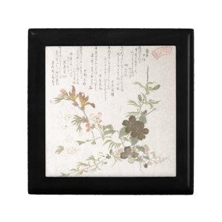 Cherry Blossoms and Yamabuki Flowers Gift Box