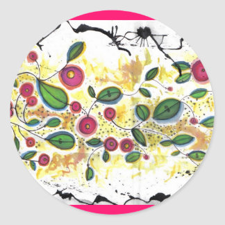 cherry blossoms final mini sticker
