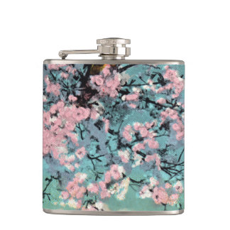 Cherry Blossoms Flask