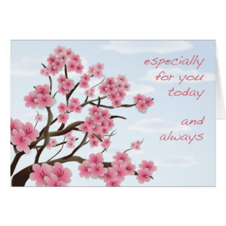 Cherry Blossoms - Greeting Card