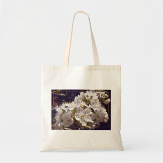 Cherry blossoms. Happy Easter. Tote Bag