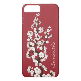 Cherry Blossoms iPhone 7 PLUS Case (red)