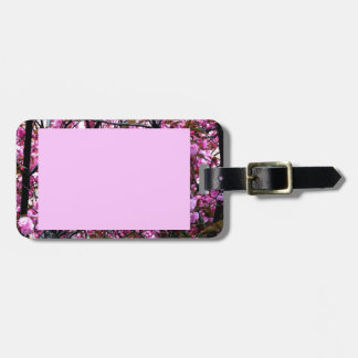 Cherry Blossoms Luggage Tag