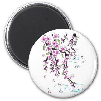 Cherry Blossoms Refrigerator Magnets