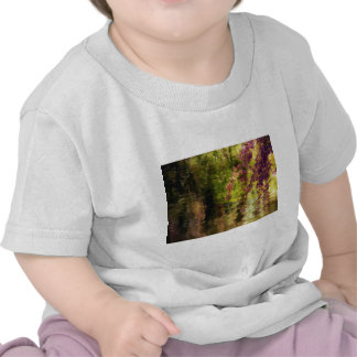 Cherry Blossoms Over A Pond Tee Shirts
