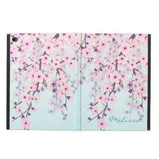 Cherry Blossoms Pastel Monogram