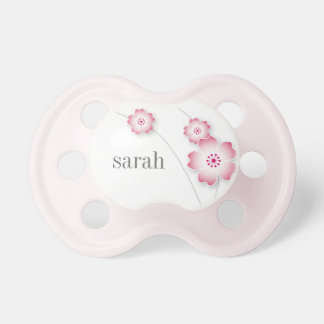 Cherry Blossoms personalized pacifier