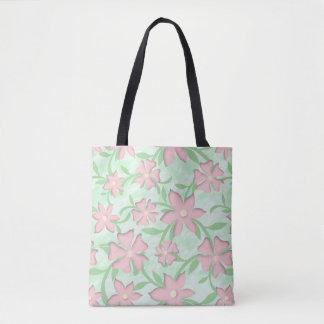 Cherry Blossoms Pink Sakura Bloom Spring Flowers Tote Bag