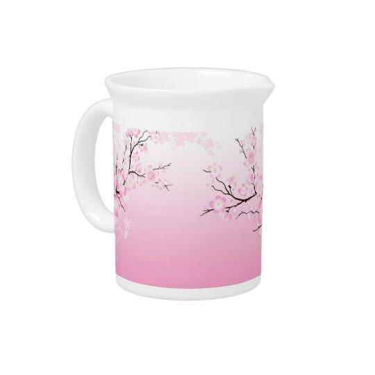 Cherry Blossoms Pitcher