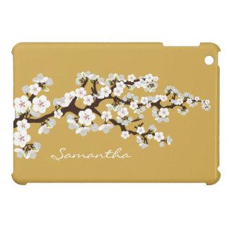 Cherry Blossoms Sakura iPad Mini Case (gold)