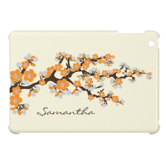 Cherry Blossoms Sakura iPad Mini Case (orange)