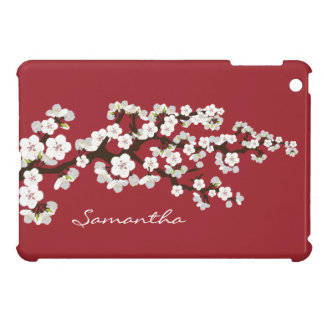 Cherry Blossoms Sakura iPad Mini Case (red)