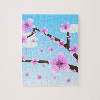 Cherry Blossoms Sakura puzzle