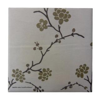 Cherry Blossoms Tile
