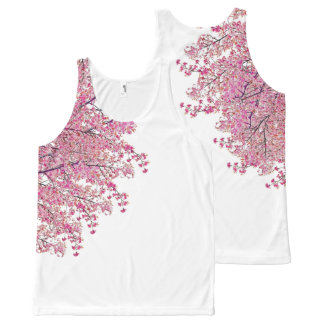Cherry Blossoms Unisex Tank Top