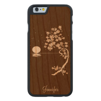Cherry Blossoms Wooden iPhone 6 Case