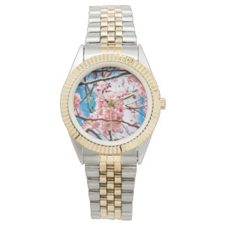 Cherry Blossoms Wristwatches
